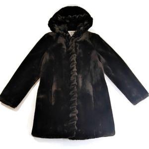 Marvin Richards Women's Winter Faux Fur Coat PXS